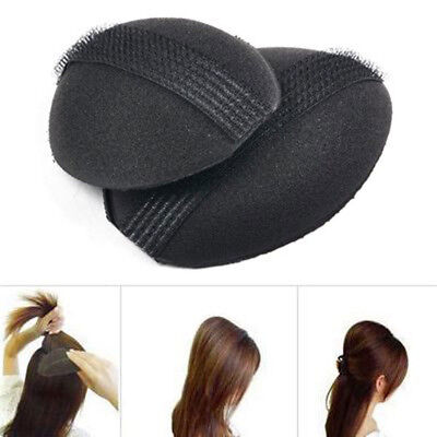 2 pcs Hair Volume Boost Invisible Sponge Bases Fluffy Bump Up Puff Inser SCH