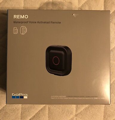 GoPro Remo Voice Activated Remote For GoPro Hero 5 Black & Session