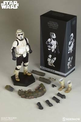 STAR WARS: EPISODE IV – SCOUT TROOPER 1/6 Action Figure 12″ SIDESHOW