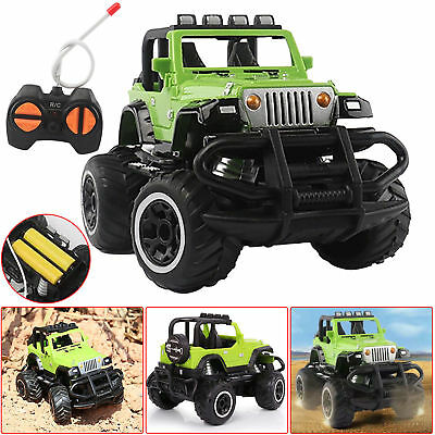 Car Ride Remote Control Kids 12v Four Way Electric Battery Toy Style Jeep RC GR