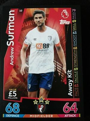 Match Attax 18/19 pick any 10 cards for only £1!!! 2 Man of the Match per 10