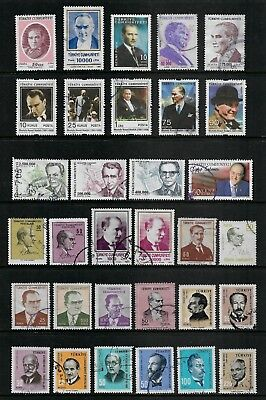 TURKEY mixed collection No.14, used