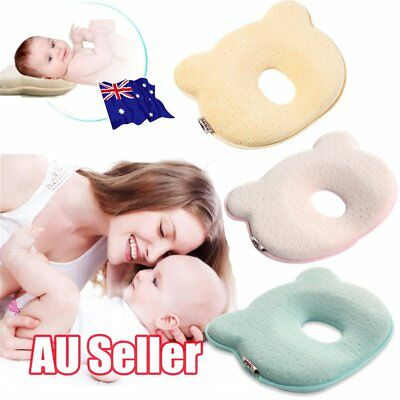 Baby Infant Cot Pillow Preventing Flat Head Neck Syndrome for newborn Girl Boy