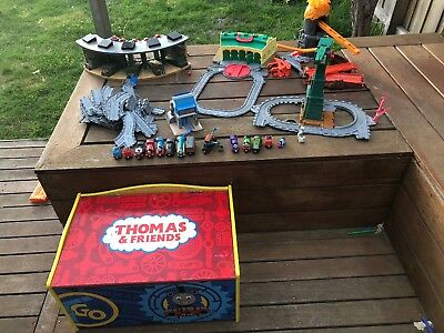 Thomas The Tank Engine bulk purchase: Tracks, Cranky Crane, Sheds, Trains + More