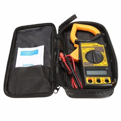 DT266 Handheld LCD Digital Multimeter Amp Clamp Meter AC/DC Voltage Tester