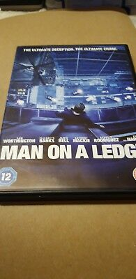 Man on a ledge dvd excellent condition