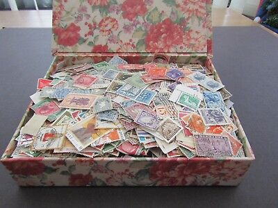 Vast Colln Of Stamps In Old Box/casket - All World/all Periods - Est 10/11,000+
