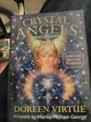 Tarot Crystal Angels Oracle Cards: 44-Card Deck And Guidebook