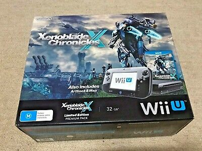 Nintendo Wii U Xenoblade Chronicles Limited Edition Premium Pack