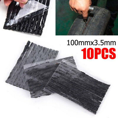 F1A4 Cars Tire Puncture Recovery Tyre Repair 10pcs 100x3.5 Vacuum Tire