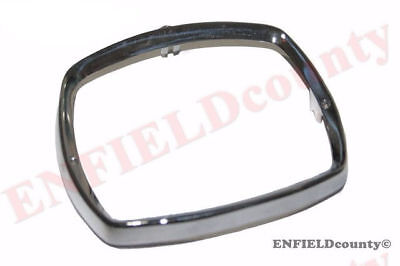 Headlight Headlamp Bezel Rim Alloy Polished Casting Lambretta Scooter  @de