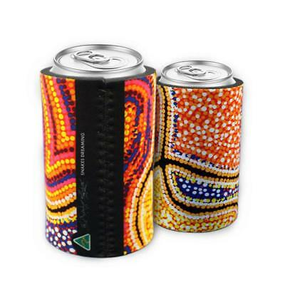 Indigenous Can Cooler - Snakes Dreaming