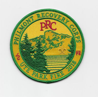 Philmont Recovery Corps ~ Ute Park Fire 2018 ~ Limited Edition