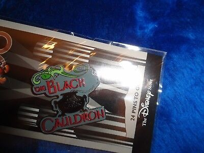 Disney COUNTDOWN TO THE MILLENNIUM BLACK CAULDRON PIN