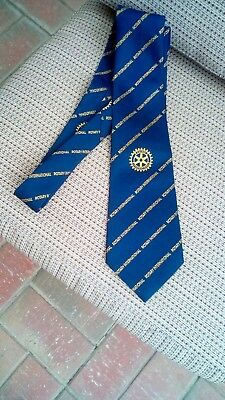 Rotary International Vintage Collectable Mens Neck Tie Brand New Without Tags