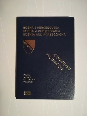 Passport Biometric BOSNIA AND HERZEGOVINA YOUNG MALE Visa USA Inks KOSOVO,CRO,TR