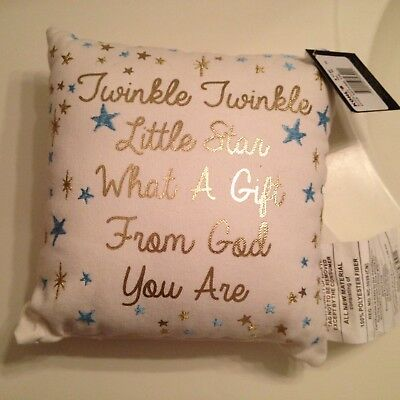Twinkle Twinkle Little Star pillow