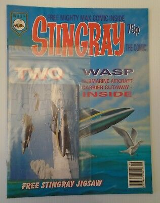 STINGRAY The comic no 12 1993   W A S P.   with stingray JIGSAW+,BATMAN BACK