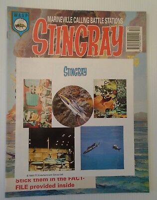 STINGRAY The comic no 13 1993   W A S P.   with stingray sticker sheet & hogan