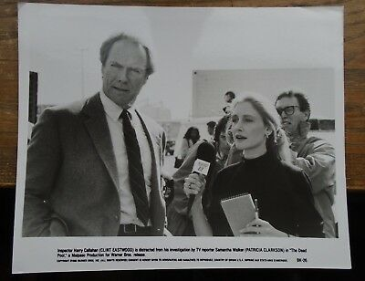 CLINT EASTWOOD & PATRICIA CLARKSON  8 X 10 PRESS PHOTO  film DEAD POOL