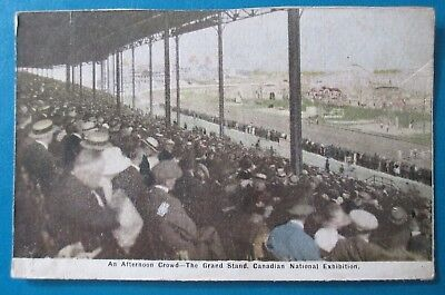 An Afternoon Crowd - The Grand Stand, Canadian National Exhibition, Post Card