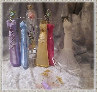 Dolls House Boutique Stand Bridal & Bridesmaid Dresses ~Bridal Wear in Miniature