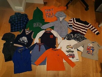 Baby Boys Clothes Tops & Jumpers Bundle Age 12-18 Months