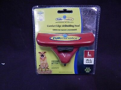 Brand New Furminator Size Large All Hair Deshedding Head Tool For Dogs Grooming