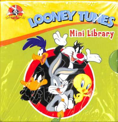 Looney Tunes Pocket Library 6 Board Books Collection Set (Pocket Library) (Fun t