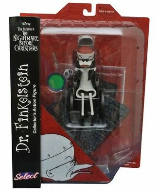 The Nightmare Before Christmas Select Diamond Select Figure Dr. Finkelstein