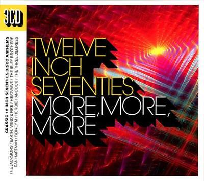 "TWELVE INCH SEVENTIES More, More, More NEW SEALED 3X CD  12"" DISCO FUNK SOUL"
