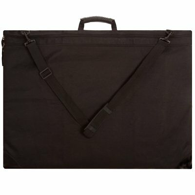 """SoHo Soft Nylon Art Portfolio Tote For Drawings Pads Canvas Frames Up To 23x31"""""""