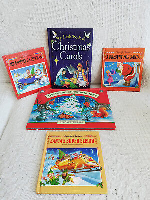 Children's Christmas Book Collection (5 Books) Free Shipping