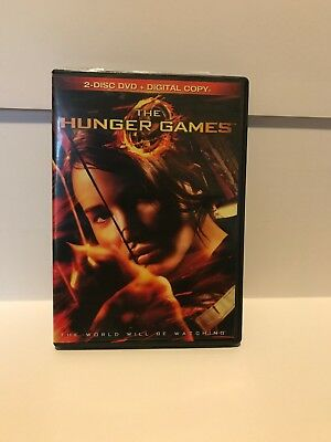 The Hunger Games DVD 2-Disc Set Widescreen Sci Fi Jennifer Lawrence