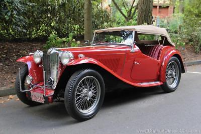 1948 MG T-Series TC Roadster. Excellent! See VIDEO. 1948 MG TC Roadster. Excellent! See VIDEO