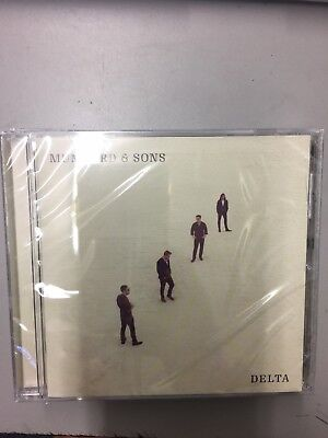 Mumford And Sons - Delta 2018 - Brand New CD - Factory Sealed - Free Shipping