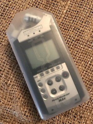 zoom h4n handy recorder w/case used clean working but needs work!