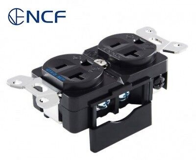 Furutech GTX-D NCF(R) Ultimate Nano-Crystal Rhodium-Plated AC Duplex Receptacle