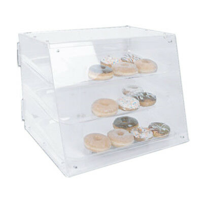 """Thunder Group PLDC001 21"""" x 17-1/4"""" x 16-1/2"""" Clear Acrylic Pastry Display Case"""