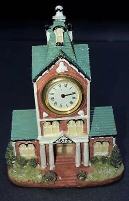 Liberty FALLS~The Americana Collection~ CLOCK TOWER & CIVIC CENTER AH222