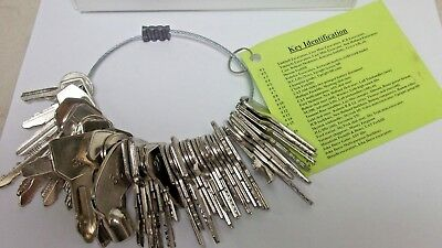 55 Keys Heavy Construction Equipment Keys Set BRAND NEW W/#ED CHART GENIE JLG ++