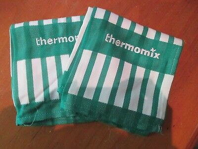 Thermomix **new** Pair Of New Thermomix Teatowels ** Free Postage **