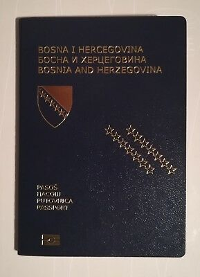 Passport Biometric BOSNIA AND HERZEGOVINA YOUNG GOOD LOOKING WOMEN Cancelled-Exp