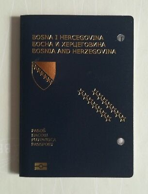 Passport Biometric BOSNIA AND HERZEGOVINA Cancelled-Expired