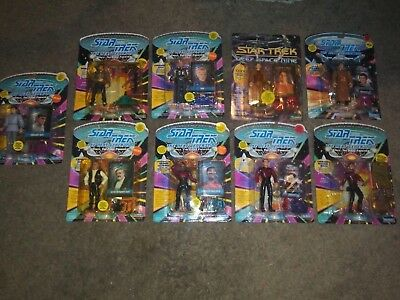 Lot Of 49 Star Trek Action Figures, 1990's Playmates, New