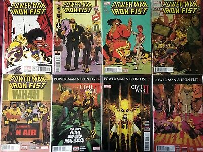 Power Man & Iron Fist (2016 series) #1-15, Sweet Christmas Special Young variant