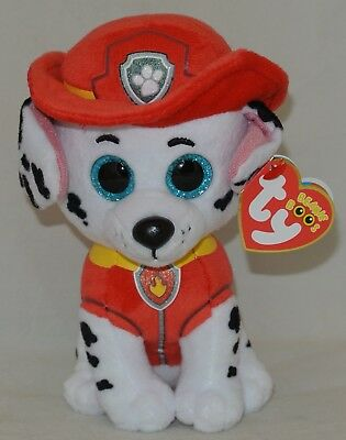 "New! Ty Beanie BOOS MARSHALL from PAW PATROL  6"" size"