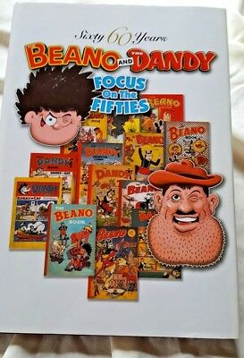 Sixty Years Beano And Dandy Focus On The Fifties Hardback Annual