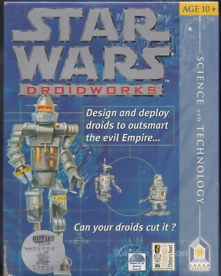 Pc Game Star Wars Droid Works *brand New & Sealed!*