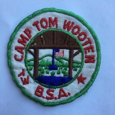 Twill Camp Tom Wooten Patch Capitol Area Council Boy Scouts of America